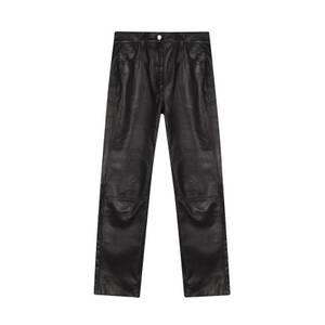 Bilde av Dagmar Naoko Leather Pants Black